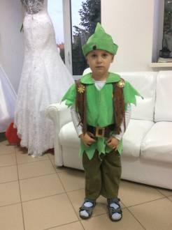 "Carnival costume ""Peter Pan"""