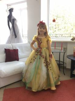 "Children's Dress ""Autumn"""