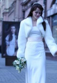 "Coat for the bride - ""Bride-Snow-maiden"""