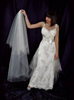 First steps to a wedding dress