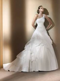 Why wedding dress train?